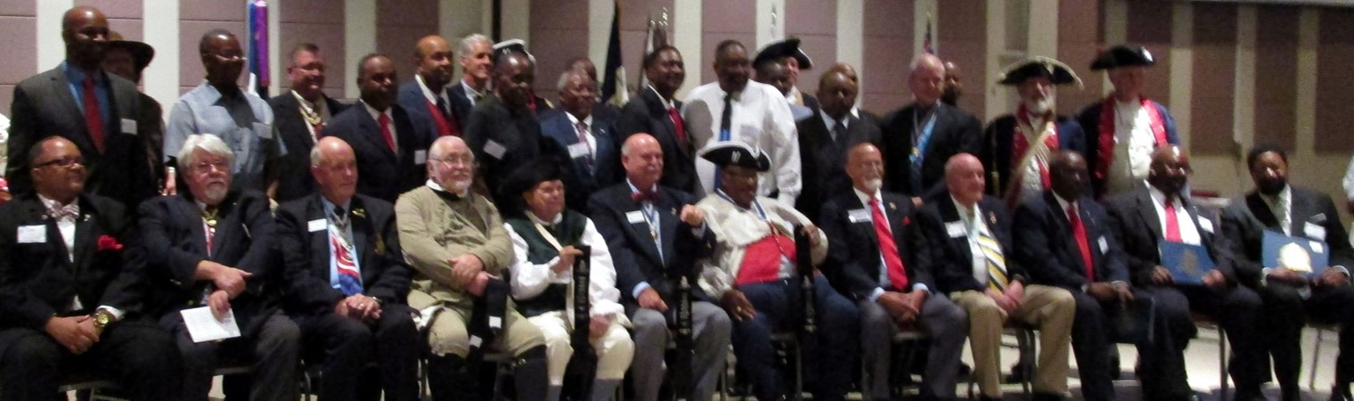 Members of the NCSSAR Patriot Isaac Carter Chapter. Photo Credit: Karen Sutton